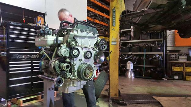 Saab Service Engine Rebuild